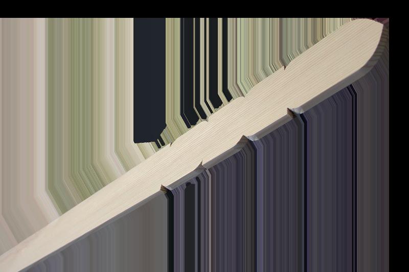 卒塔婆3尺×2寸4分×9mm等級A(50本入)※長さ5mm短い