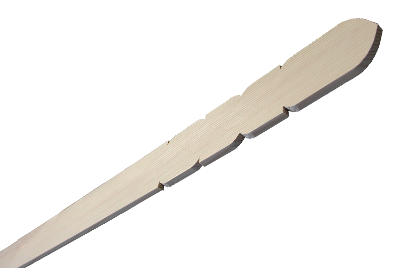 卒塔婆3尺×2寸4分×9mm等級B(50本入)※長さ5mm短い