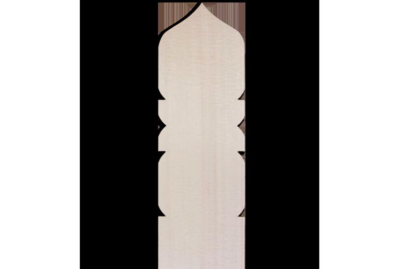 卒塔婆2尺×2寸4分×7mm宝珠型等級B(1本入)