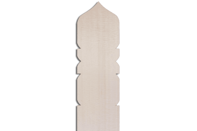 卒塔婆2尺×2寸4分×9mm宝珠型等級C(1本入)