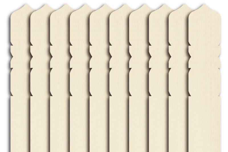 卒塔婆1尺5寸×2寸×4mm等級B(50本入)