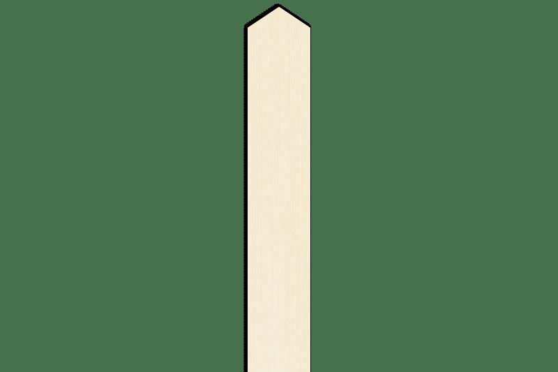 神式塔婆1尺5寸×2寸×4mm等級B(1本入)