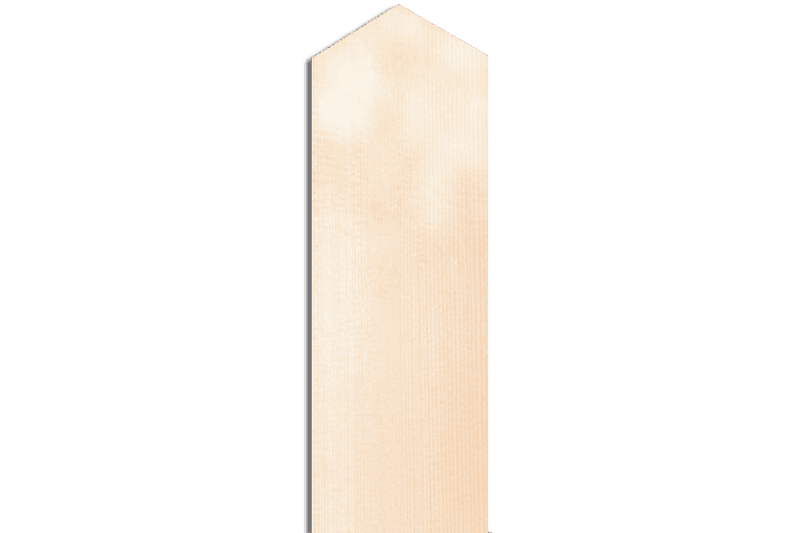 神式塔婆2尺5寸×2寸4分×9mm等級A(1本入)