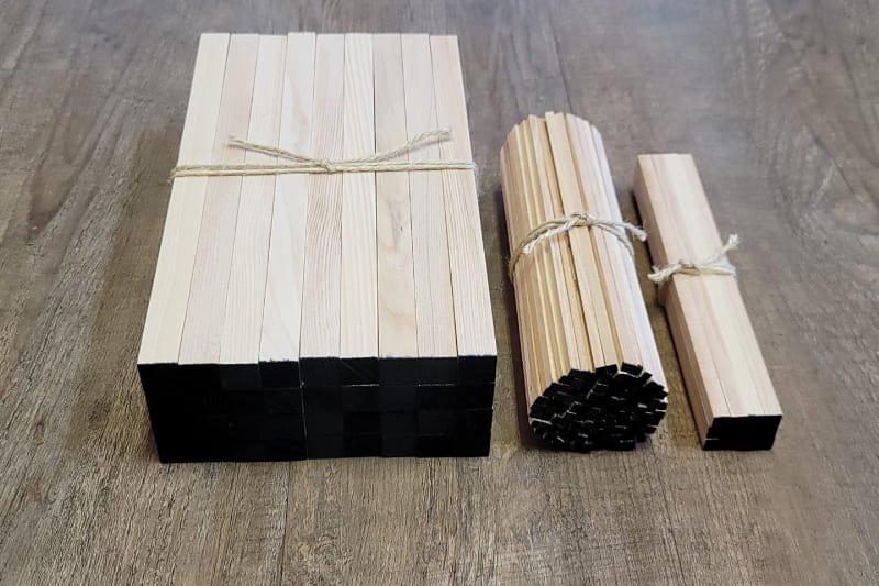 護摩木 本側墨付け 3種一座分 乳木十二支