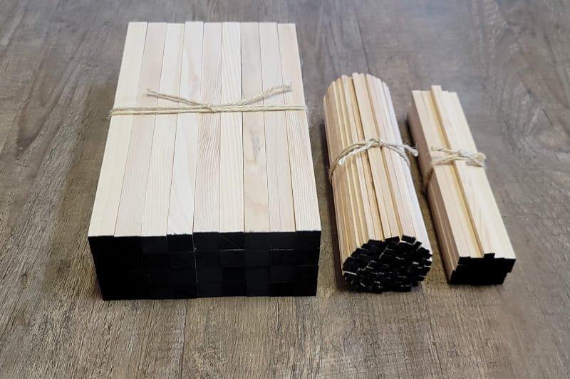 護摩木 本側墨付け 3種一座分 乳木二十一支