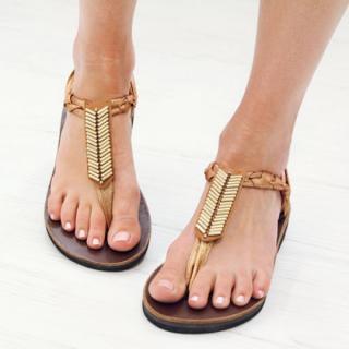 Sseko Designs:<br>Mojave Sandal Accent