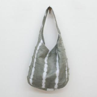 Sseko Designs:<br>Grey Shibori Hobo