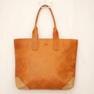 Sseko Designs:<br>Caramel Saddle Tote