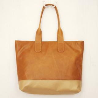 Sseko Designs:<br>Caramel Harbor Tote