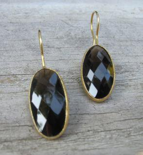 Belesas:<br>Smoky Quartz Earrings