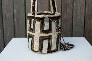 Colombian Made:<br>Wayuu Mochila<br>(Geometric)