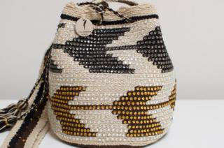 Colombian Made:<br>Wayuu Mochila<br>(Chevron)