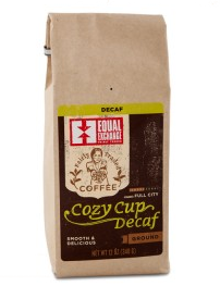 Equal Exchange<br>Cozy Cup Decaf (Grind)