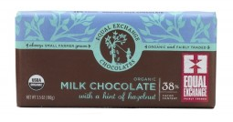Equal Exchange<br>Hint of Hazelnut (38%cacao)