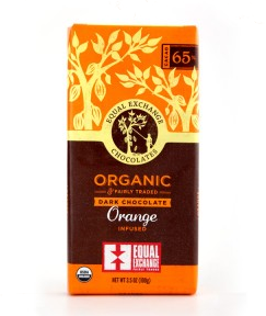 Equal Exchange<br>Dark Chocolate Orange (65%cacao)