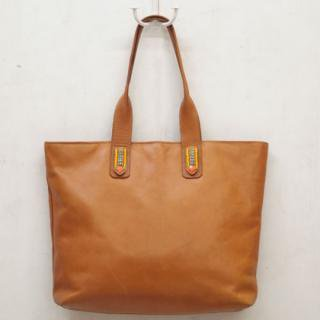Sseko Designs:<br>Rio in Caramel Accent Tote
