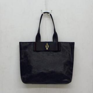 Sseko Designs:<br>Leather Obi in Espresso Brown Accent Tote