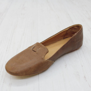 Sseko Designs:<br>Accent Leather Loafer<br>Caramel