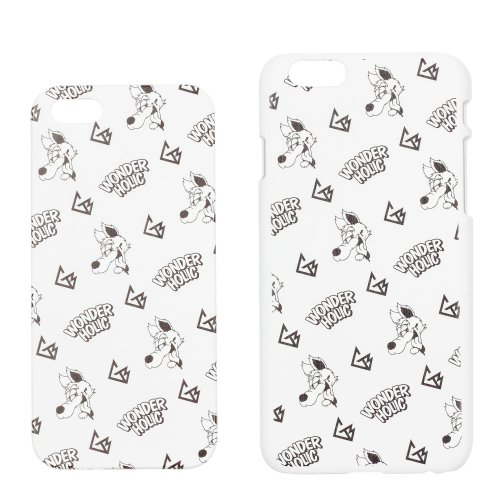 CARTOON WOLF iPhone CASE WHITE
