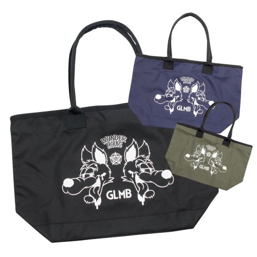 <img class='new_mark_img1' src='//img.shop-pro.jp/img/new/icons16.gif' style='border:none;display:inline;margin:0px;padding:0px;width:auto;' />CARTOON WOLF TOTE BAG