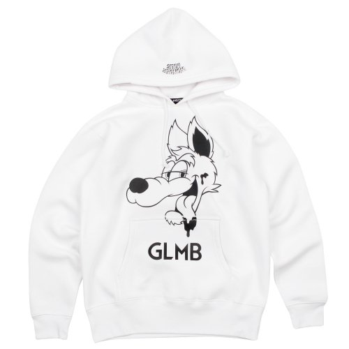 <img class='new_mark_img1' src='//img.shop-pro.jp/img/new/icons20.gif' style='border:none;display:inline;margin:0px;padding:0px;width:auto;' />CARTOON WOLF PULL PARKA 【WHITE】