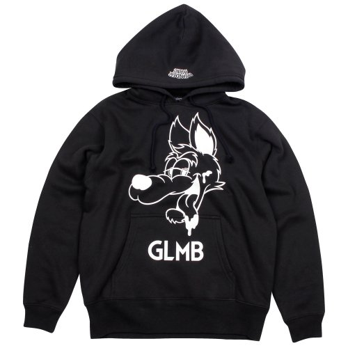 <img class='new_mark_img1' src='//img.shop-pro.jp/img/new/icons20.gif' style='border:none;display:inline;margin:0px;padding:0px;width:auto;' />CARTOON WOLF PULL PARKA 【BLACK】