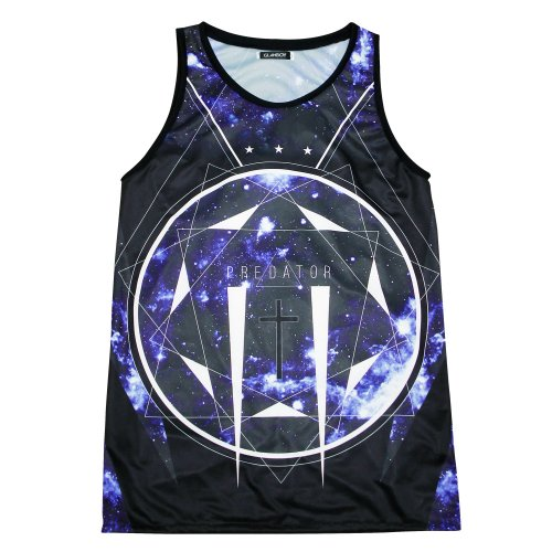 PREDATOR BLUE TANK TOP