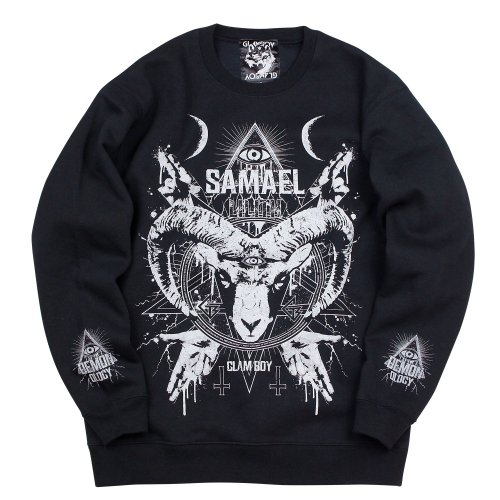<img class='new_mark_img1' src='https://img.shop-pro.jp/img/new/icons5.gif' style='border:none;display:inline;margin:0px;padding:0px;width:auto;' />SAMAEL BiG SWEATSHIRTS