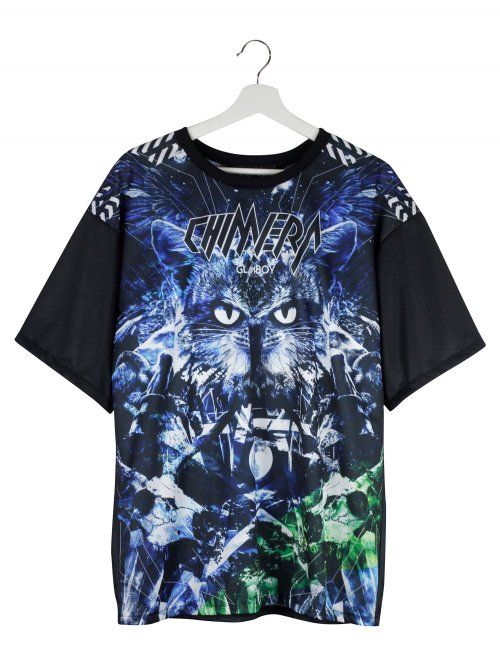 CHIMERA BLUE FULL GRAPHIC T