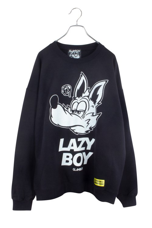 LAZYBOY BiG  SWEATSHIRTS 【黒】