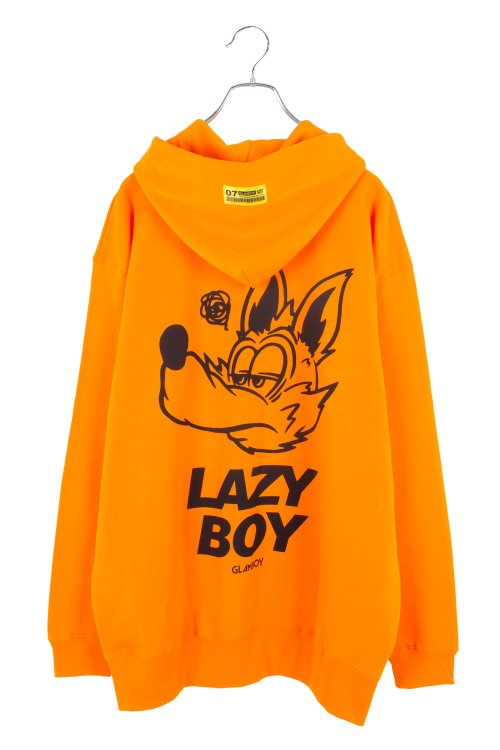 <img class='new_mark_img1' src='https://img.shop-pro.jp/img/new/icons5.gif' style='border:none;display:inline;margin:0px;padding:0px;width:auto;' />LAZYBOY ZIP HOODIE【オレンジ】