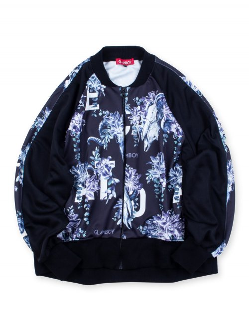 <img class='new_mark_img1' src='https://img.shop-pro.jp/img/new/icons5.gif' style='border:none;display:inline;margin:0px;padding:0px;width:auto;' />SCAPEGOAT RAGLAN SLEEVE BLOUSON【BLACK】
