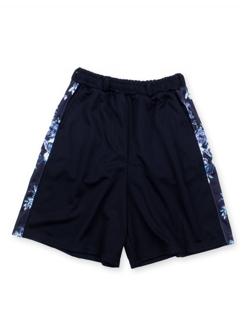 SCAPEGOAT SIDE LINE HALF PANTS【BLACK】