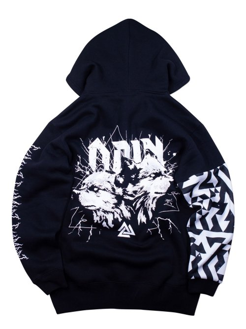 <img class='new_mark_img1' src='https://img.shop-pro.jp/img/new/icons5.gif' style='border:none;display:inline;margin:0px;padding:0px;width:auto;' />ODIN ZIP HOODIE 袖切替ver.