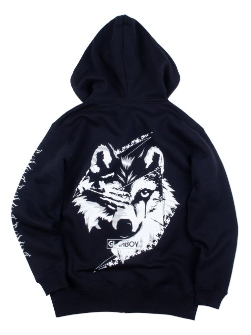 <img class='new_mark_img1' src='https://img.shop-pro.jp/img/new/icons5.gif' style='border:none;display:inline;margin:0px;padding:0px;width:auto;' />狼v.3 ZIP HOODIE