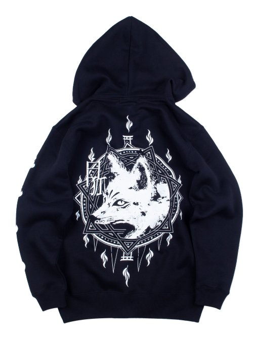 <img class='new_mark_img1' src='https://img.shop-pro.jp/img/new/icons5.gif' style='border:none;display:inline;margin:0px;padding:0px;width:auto;' />白狐v.3 ZIP HOODIE