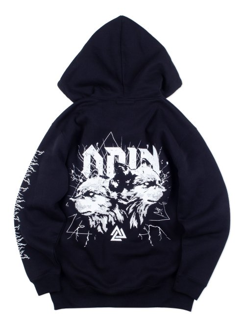 <img class='new_mark_img1' src='https://img.shop-pro.jp/img/new/icons5.gif' style='border:none;display:inline;margin:0px;padding:0px;width:auto;' />ODINv.2 ZIP HOODIE【WHITE】