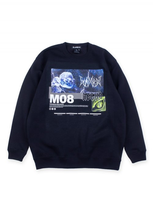 <img class='new_mark_img1' src='https://img.shop-pro.jp/img/new/icons5.gif' style='border:none;display:inline;margin:0px;padding:0px;width:auto;' />GACKO SWEATSHIRTS