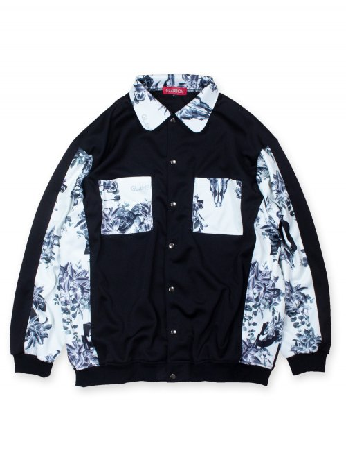 <img class='new_mark_img1' src='https://img.shop-pro.jp/img/new/icons8.gif' style='border:none;display:inline;margin:0px;padding:0px;width:auto;' />SCAPEGOAT SHIRT BLOUSON 【WHITE】