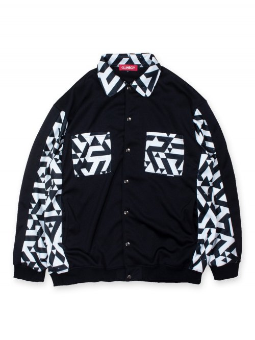 <img class='new_mark_img1' src='https://img.shop-pro.jp/img/new/icons8.gif' style='border:none;display:inline;margin:0px;padding:0px;width:auto;' />SHIRT BLOUSON 【幾何学】