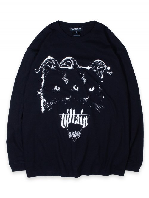 <img class='new_mark_img1' src='https://img.shop-pro.jp/img/new/icons8.gif' style='border:none;display:inline;margin:0px;padding:0px;width:auto;' />Villain BiG LONG SLEEVE-T