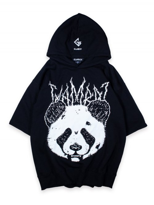 <img class='new_mark_img1' src='https://img.shop-pro.jp/img/new/icons8.gif' style='border:none;display:inline;margin:0px;padding:0px;width:auto;' />メタルパンダ SHORT SLEEVE HOODIE