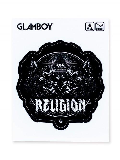 塩ビステッカー【RELIGION】