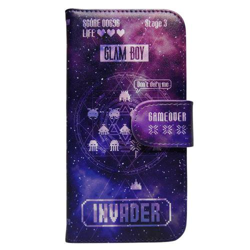 BOOK TYPE iPhone CASE INVADERver