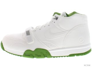 【US10】NIKE AIR TRAINER 1 MID SP/ FRAGMENT 806942-113 white/white-chlorophyll