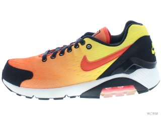 【US8】NIKE AIR MAX 180 EM 579921-887 tm orange/tm orng-tr yllw-blk