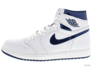 AIR JORDAN 1 RETRO HIGH OG 555088-106 white/midnight navy