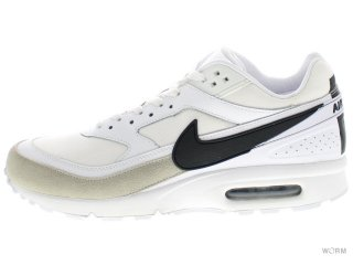 【US10.5】NIKE AIR MAX BW PREMIUM 819523-100 white/black-lt iron ore