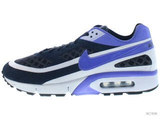 【US11】NIKE AIR BW GEN II 386846-002 black/persian violet-ntrl grey
