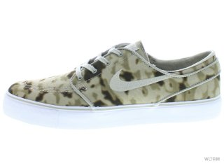 【US9.5】NIKE SB ZOOM STEFAN JANOSKI 333824-207 medium khaki/beige-chalk-white